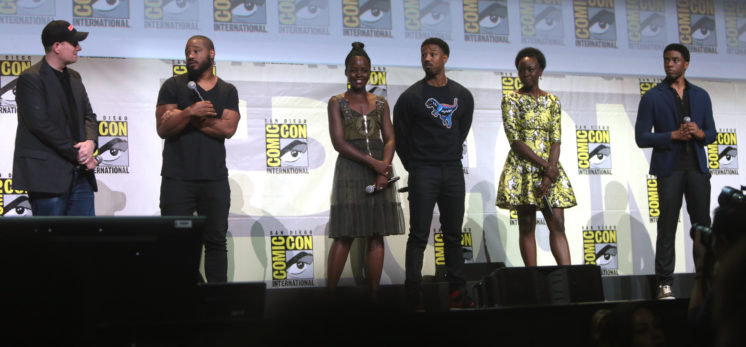 Black Panther cast -Wikimedia / Gage Skidmore