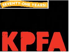Logo for KPFA 94.1